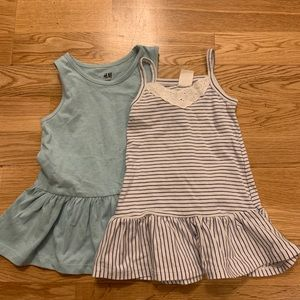 H&M baby girl cotton dresses